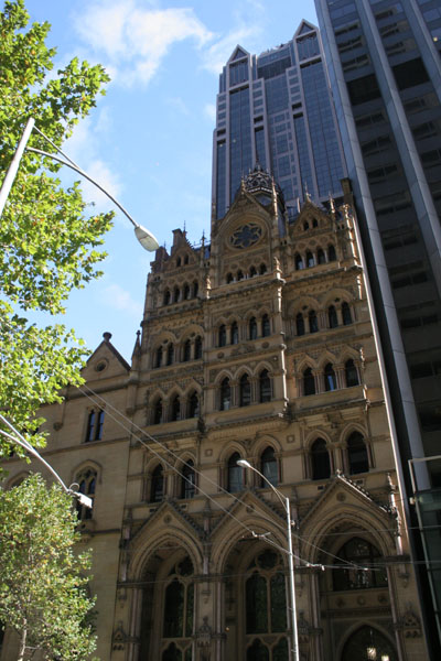 Melbourne ANZ buildings