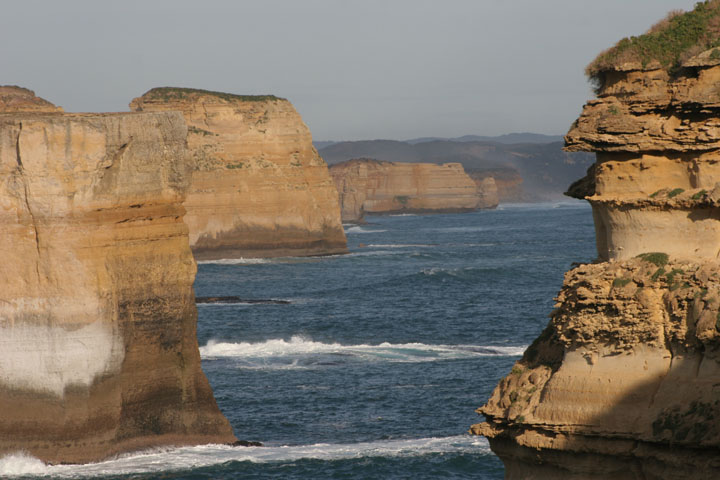 Twelve Apostles coastline from Loch Ard Gorge