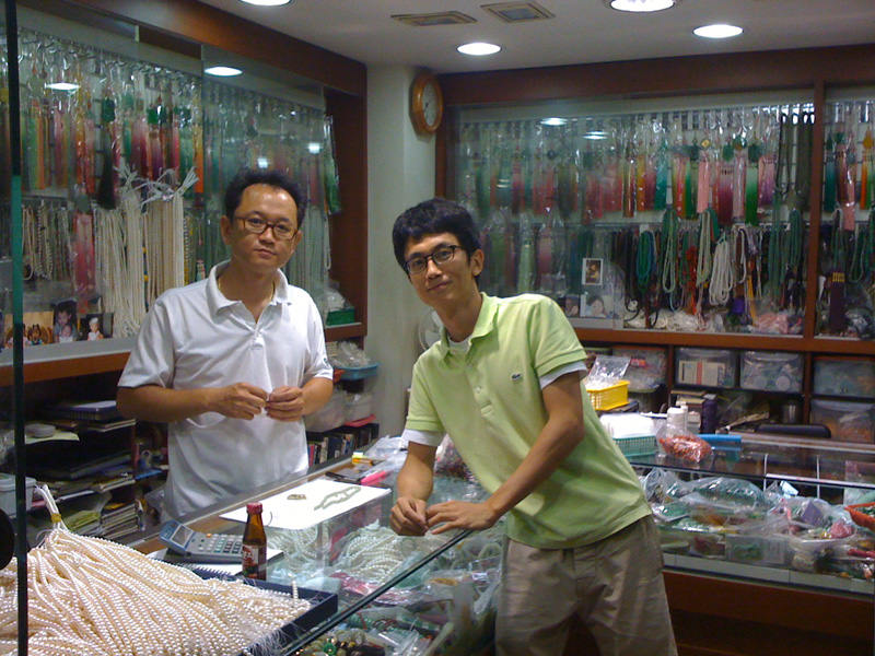 Great little pearl shop in Seoul Jongno