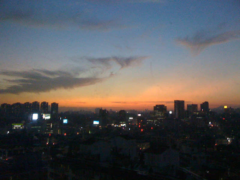 Sunset View of Seoul